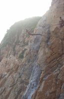 cliff dive by imanani