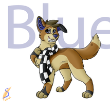 Blue looks so cool:gift: by safirethedragon