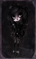 Black Doll by H-e-n-r-i