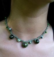 Heart of the Forest- Necklace by merigreenleaf