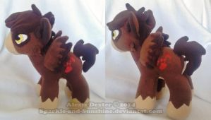 Custom Pony Plush - Denazi by Sparkle-And-Sunshine