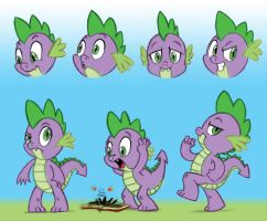 Spike sketches by GlancoJusticar