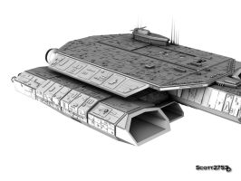 BC-304 Daedalus WIP 13 by 2753Productions