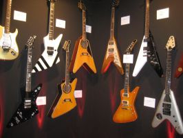 Just some guitars ^^ by Amaterasuscorp1