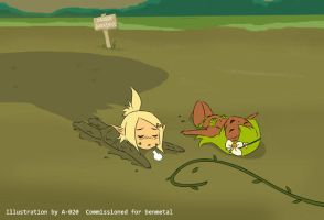 Wakfu - Quicksand #4 by A-020