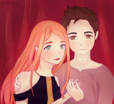 Stydia by catpillo