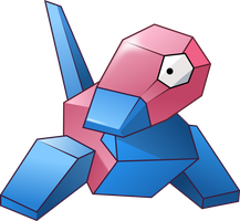 Porygon vector by UmbraVivens