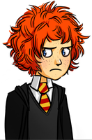 HP7: Hugo Weasley by omgdragonfly