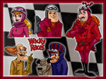 Those Wacky Racers by CartoonSilverFox