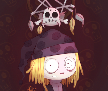 [PROCESS] Lenore and the Dreamcatcher by Jaha-Fubu