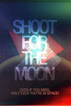 shoot for the moon! by kuting16