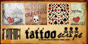Tattoo Scraps by SwearToShakeItUp