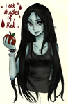 Marceline The vampire QUEEN by Ekiso
