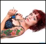 tattoo girl by scottchurch