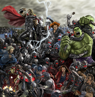 Avengers age of ultron by billycsk