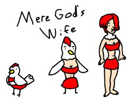 Mere God's Wife by RyuPointGame