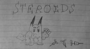 Pikachu and Steroids by triplesonicX