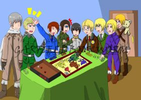 Hetalia: Risk by garfieldbookworm