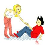 pwned you - Jake and Rose by Irrel