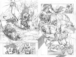 Phantom Stranger pencils by ardian-syaf