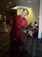 Ohayocon 08 Vash cosplay by Djora