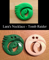 Tomb Raider: Lara's Necklace WIP by Solvash