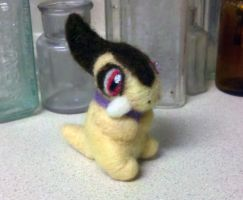Axew Kibago :Shiny: Felted by TheHarley