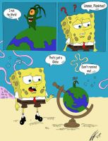 Plankton rules the World by Treekami