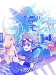 11th : Digimon by akinohara