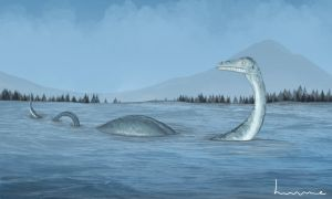 Loch Ness Monster by Louisetheanimator