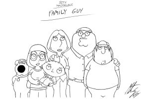 Seth MacFarlane - Family Guy by MortenEng21
