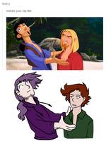 redraw tumblr meme by moonlightartistry