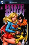 Supergirl + Batgirl sketch cover by gb2k