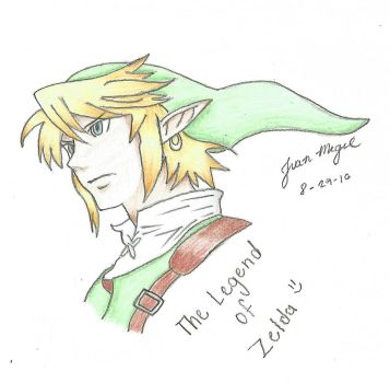 link legend of zelda by DiamondplayerXD