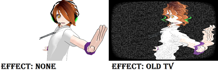 MMD effect Old Tv ~downloadable~ by Megpoid1234