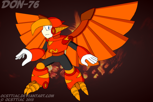 DON-076 Phoenix Man by Ocsttiac