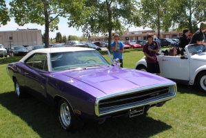 Purple Charger by KyleAndTheClassics