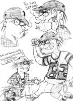 The Random Sketches of Bro by vaness96
