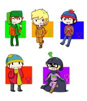 South Park Stickers by Dartty