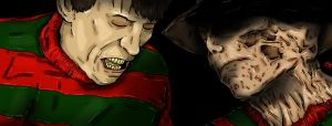 FREDDY KRUEGER NOES REMAKE by smartgary