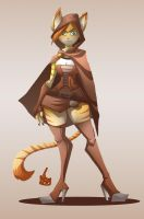 Loree the medieval thief by Jaehthebird