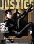 Cat Woman Justice Magazine. Inspired by ARTGERM! by zosco