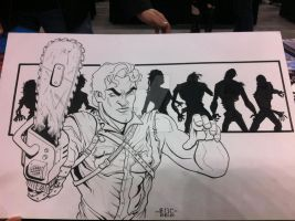 W.I.P Ash Army of Darkness by MARR-PHEOS