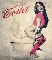 In the Toilet by MAR10MEN