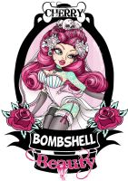Cherry Bombshell Beauty Logo by Miss-Cherry-Martini