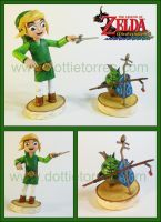 Link And Makar by Gimmeswords