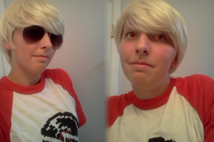 yeh Dave Strider cosplay by Radioactive-Demon
