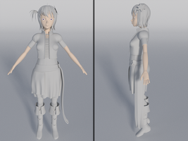 WIP : Phoebe Verale Untextured by Solacen