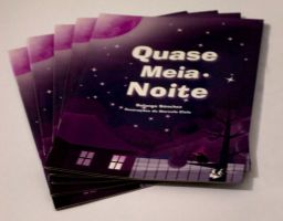 Cover of children's book Quase Meia-Noite by MarceloCielo