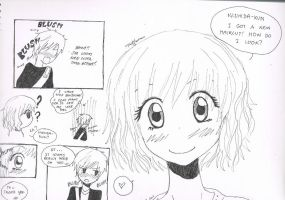 My Very First One Page Manga by redhotcinnamontwist